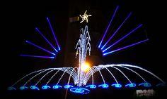 Christmas Lights... Christmas Lights, Statue Of Liberty, Barcelona, Fair Grounds, Christmas Fairy Lights, Statue Of Liberty Facts, Statue Of Libery, Barcelona Spain