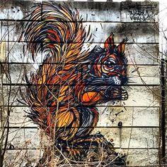 Art, Squirrel!   new DZIA in Mechelen, Belgium