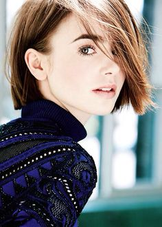 Lily Collins photographed by David Roemer for Marie Claire UK