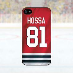 93b0a010b4e Marian Hossa - Chicago Blackhawks Case  iPhone 4 4S 5 5S 5C 6