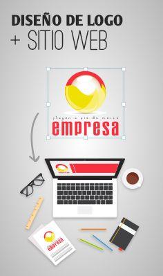 Diseño de Logo+ Sitio Web para tu Empresa    Visita www.liderlogo.com