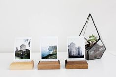 Wood Photo Displays PACKS, Instax Display, Instax Photo Stands, Photo Displays, Picture Holder, Wood Picture Frame, Wooden Photo Stands
