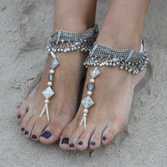 Carlita Barefoot Sandals by Forever Soles | Forever Soles Bridal Shoes