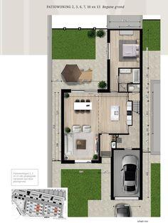 Architecture Design, House Plans, Floor Plans, Flooring, How To Plan, Projects, Home Plans, Casa De Campo, Facades
