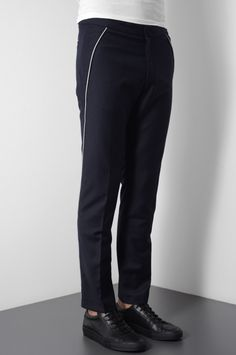 CMMN SWDN COMMON  MAX WOOL TROUSERS