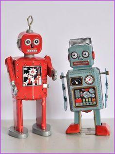 "Roboter ""Peter & Paul"" bei diefranzinellis / Robots ""Peter & Paul"" ar diefranzinellis"