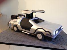 """Back To The Future"" Delorean Cake! Creative Simon Lee Bakery"