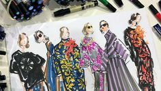How to Make It as a Fashion Illustrator in 2015. Step one: Get lots of Instagram followers.