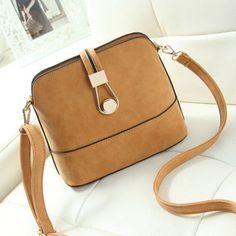 Women Bag Handbags Over Shoulder Crossbody Sling Summer Leather Messenger Scrub Shell Lock Fashion Small Ladies Luxury Brand