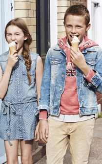 Pepe Jeans Spring Summer 2014 Kids Campaign