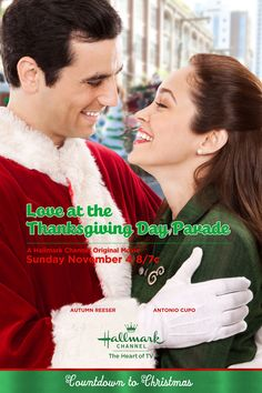 Its a Wonderful Movie: Love at the Thanksgiving Day Parade - Hallmark Channel Mo. - Its a Wonderful Movie: Love at the Thanksgiving Day Parade – Hallmark Channel Movie … voted the - Películas Hallmark, Hallmark Holiday Movies, Best Christmas Movies, Christmas Shows, Hallmark Channel, Xmas Movies, Family Christmas, Vintage Christmas, Christmas Time