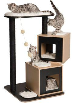 Résultats de recherche d'images pour « como hacer un rascador para gatos barato »