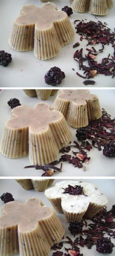 Natural Soap with blackberries (scrub)   The place where you craft your beauty..