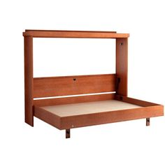 Roomandloft andrew murphy bed in chestnut finish beds pinterest wall bed and bunk beds or even wall bunk beds located in ny create a bed the perfect murphy bed mechanism provides services for modern solutioingenieria Image collections