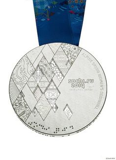 Sochi 2014 Paralympic silver medal   Олимпийские зимние игры Sochi 2014
