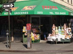 Teitel Brothers grocery store.  Little Italy, #Bronx #NYC (July, 2013).
