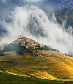 Castelluccio di Norcia, Perugia, Umbria, Italy