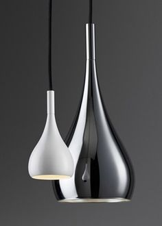 Metal Pendant Lights | lighting . Beleuchtung . luminaires | Design: Fabbian |