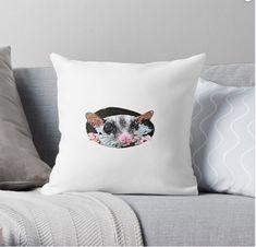 Throw Pillow Funny Rats, Throw Pillows, Tees, T Shirt, Supreme T Shirt, Toss Pillows, T Shirts, Tee Shirt, Cushions