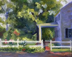 Landscape Oil Painting Impressionist by RenderedImpressions, $250.00