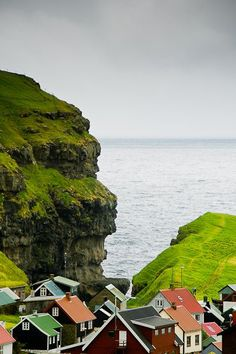 faroe islands - I think this has to be our next adventure. It is halfway between Denmark and Iceland.