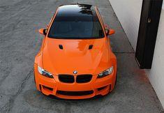 E92 M3 Fire Orange - New Front Bumper & Carbon Lip Setup - BMW M3 Forum (E90 E92)
