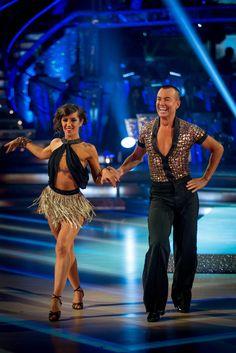 Janetta Manrara and Julian Macdonald - Strictly Come Dancing 2013 - Week 1