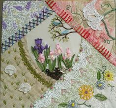 CrazyQuiltingSupplies: Spring Fling Crazy Quilt Challenge Winners