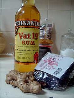 Jamaican Sorrel Rum Punch (recipe)