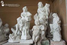 Working on ideas: before Vicenza stone, clay comes || Prima di lavorare la pietra: un bozzetto in creta per iniziare a dare forma un'idea