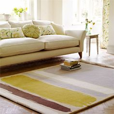 Sanderson Abstract Linden & Silver Rug by Network Rugs. Get it now or find more All Rugs at Temple & Webster. Interior Desing, Room Interior, Interior Ideas, Tapis Design, Bedding Sets Online, Cheap Carpet, Modern Rugs, Luxury Bedding, Rugs On Carpet