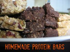 How to Make Homemade Protein Bars | via @Harriet Adkins Bottomed Girls #food #nutrition #recipe