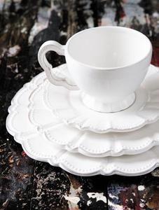 Always love me some beautiful white dinnerware