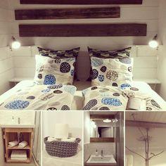 #room, #bathroom, #nordic, #skandi, #natural, #white, #wood, #simple #idea, #interior, #stay, #home,#hygge #mazury #poland #goodtime #mikolajki #holidays #wakacje #lamps #sleep Furniture, Decor, Home Decor, Bed