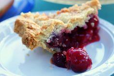 "This looks so yummy! ""Sweet Cherry Pie"" from Smitten Kitchen"