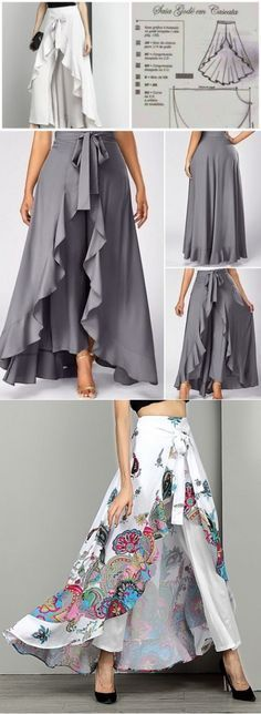 Most current Pic Sewing clothes shorts Strategies шью сама - Fashion Sewing, Diy Fashion, Fashion Dresses, Womens Fashion, Fashion Ideas, Beach Fashion, Circle Fashion, Hijab Fashion, Fashion Blouses