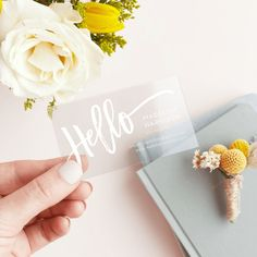 Get noticed with Business Cards for your blog - The Flower Donkey Diaries