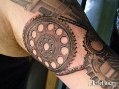 Gears Tattoo Designs | Timing Gear - Tattoo Artists.org