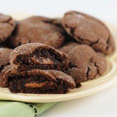 Chocolate Caramel Rolo Cookies! Chocolate + Caramel = PERFECTION!