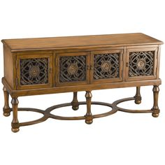 Fitzgerald Media Console >> Love this for my living room.