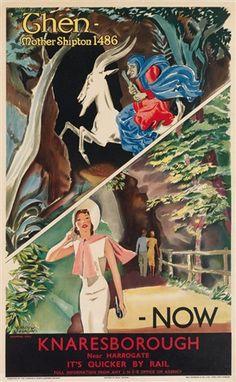 Dunbar Route Railway Vintage Scotland Beautiful Poster East Lothian Advert