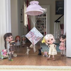"""✨✨""""Hip hip hooray, today's the day!""""✨✨The Little Mischiefs Up To No Good is now available to buy worldwide at www.dollytreasures.com"""
