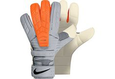 At www.soccerpro.com right now. Nike Confidence Goalkeeper Gloves - White and Total Orange