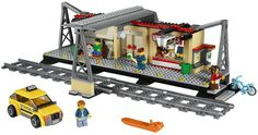 The Lego City Train Station - a great selection of Lego construction sets at Wonderland Models.    http://www.wonderlandmodels.com/products/lego-city-train-station-new/