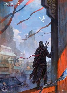 Clearly it's not the right time for an assassin. He is a weapon in the shadow, not a blade in the light. Assassin, another day Asesins Creed, All Assassin's Creed, Ninja Assassin, Arte Assassins Creed, Connor Kenway, Armadura Medieval, Drawn Art, China Art, Character Art