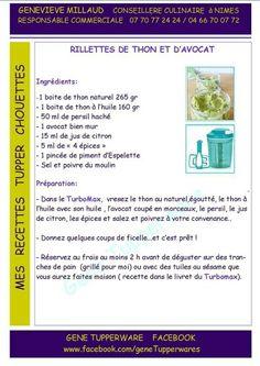 Tupperware Tupperware Recipes, Tapas, Food And Drink, Cocktails, Recipes, French Recipes, French Nails, Salad, Kitchen Stuff
