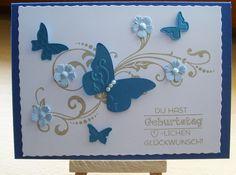 Geburtstagskarte  von Wollzottel auf DaWanda.com