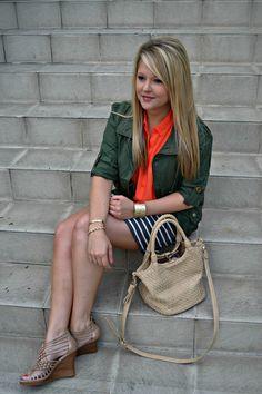 #MaxxStyle MINE striped skirt at T.J.Maxx for $16.99!