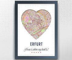 Digitaldruck - Erfurt - ein Designerstück von GALERIE-IM-WANDEL bei DaWanda