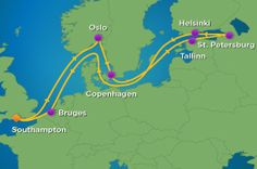 My Northern European cruise choice - 12 Night Baltic Cruise with Royal Caribbean.  Starting at $1,958.
